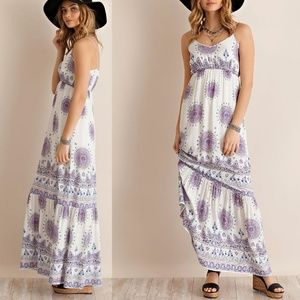 Entro Babes in the Sun Maxi Dress size M // B11